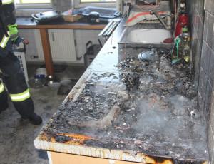 Küchenbrand – 4.5.2013