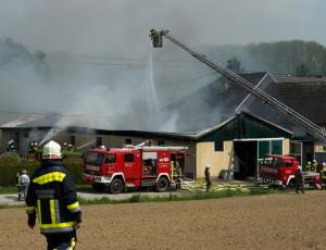 Brandeinsatz – 2.5.2014