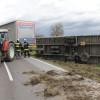 Sturm – umgestürzter LKW – 31.3.2015