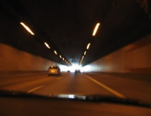Verhalten bei Tunnelunfällen