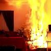 Video Christbaum- & Adentkranzbrand