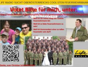 """Gewinnspiel: """"OÖ Coolster Feuerwehrmann"""""""