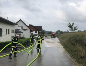 Reinigungsarbeiten Auf der Lindn – 03.08.2019