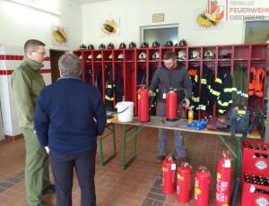 Feuerlöscher-Überprüfung – 6. April 2019