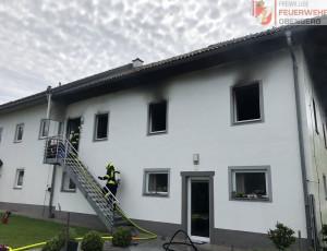 Zimmerbrand Aistbergthal – 07.06.2020